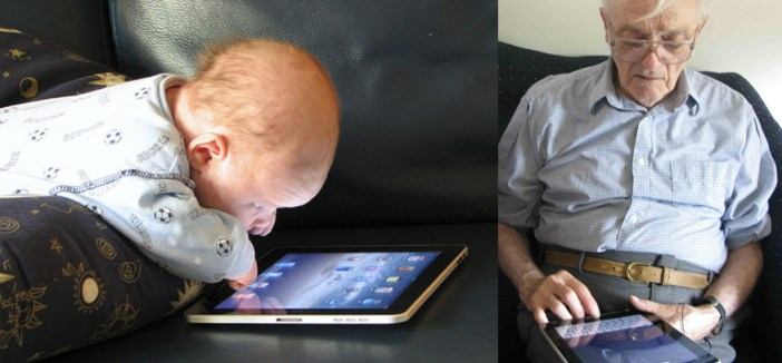 iPad for the Ages - from Toddlers to Seniors