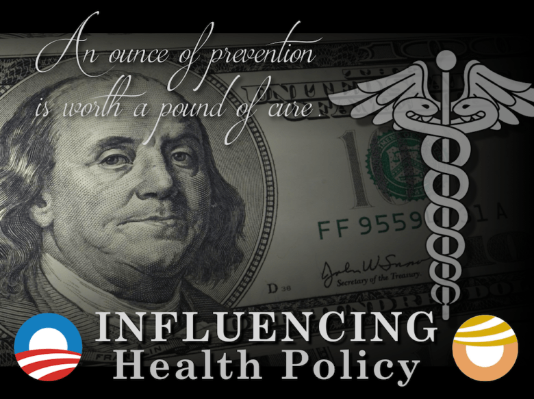 "Benjamin Franklin is credited as saying, ""An ounce of prevention is worth a pound of cure,"" but policymakers seem more influenced by the money he's pictured on."