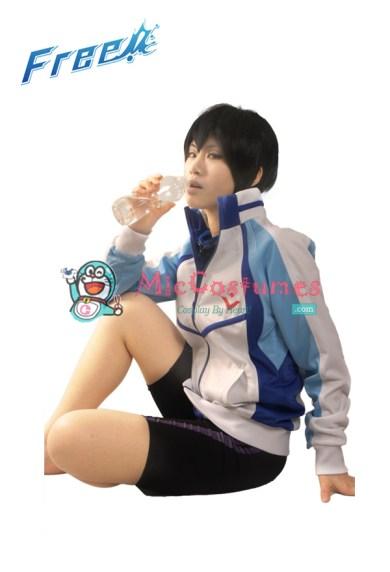 Free! Iwatobi Swim Club Haruka Nanase Cosplay Costume Coat