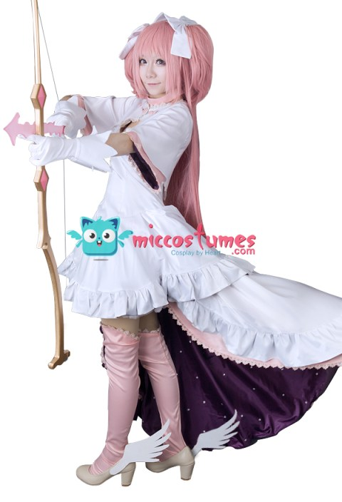 Puella Magi Madoka Magica Madoka Kaname Final Version Cosplay Costume