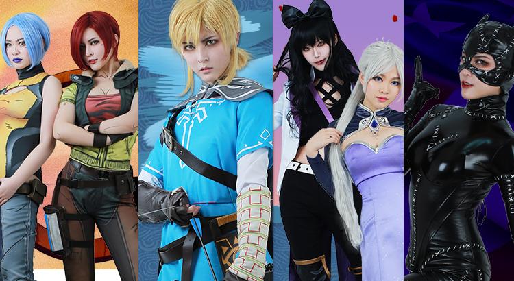 new cosplays