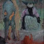 ohne Titel 2015 Öl auf Leinwand 40 x 30 cm