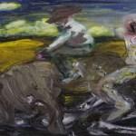 Oliver Dehn, Landgang, 2012, Öl auf Leinwand, 130 cm x 180 cm