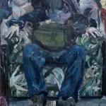 Der Sessel (Manfredo) 2016 Öl auf Leinwand 160x100 cm