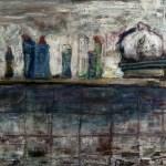 kontemplation  2014 Öl auf Leinwand 60x80cm