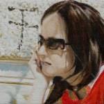 ohne Titel 2006 Öl auf Leinwand 26 x 29 cm