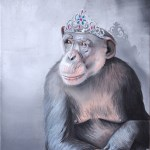 Her Majesty 2016 Oil on canvas 50x40cm
