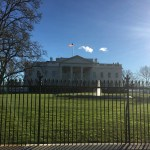 "My ""Drive By Tour"" of Washington--the White House."