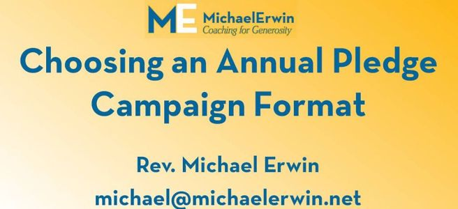 Webinar - Choosing an Annual Campaign Format blog post image