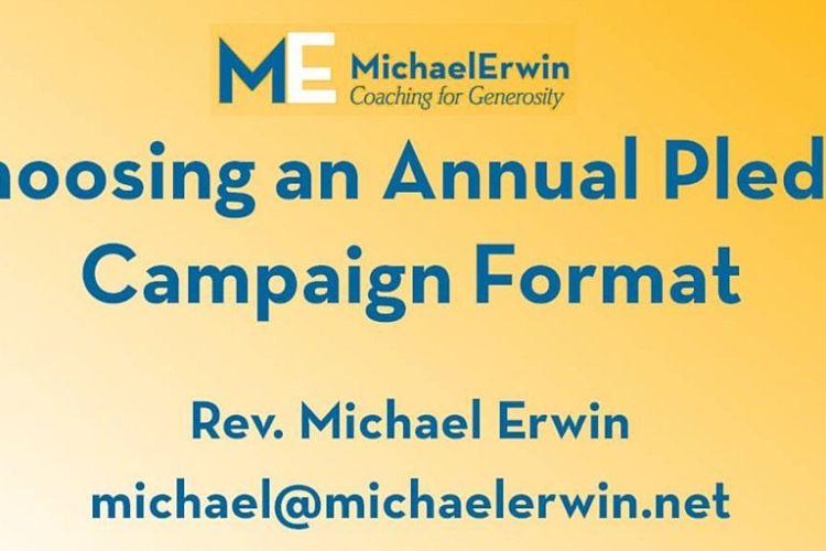 Webinar - Choosing an Annual Campaign Format blog post image