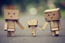 Sweet-Danbo-Family-Wallpaper