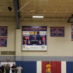 116-99 was the actual score with the gold team earning the victory
