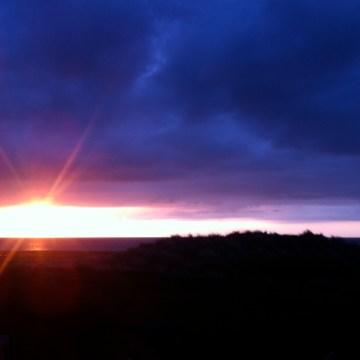 sunset at doonbeg