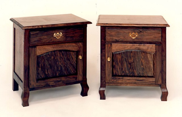 Queen Anne style nightstands