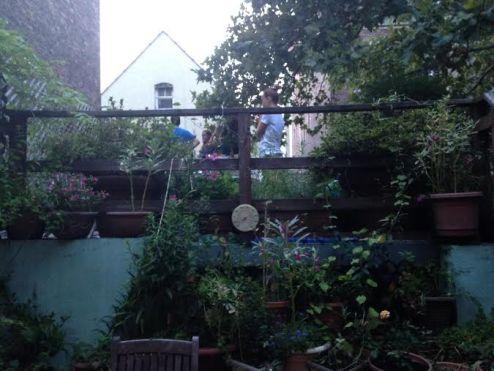 Our garden/porch