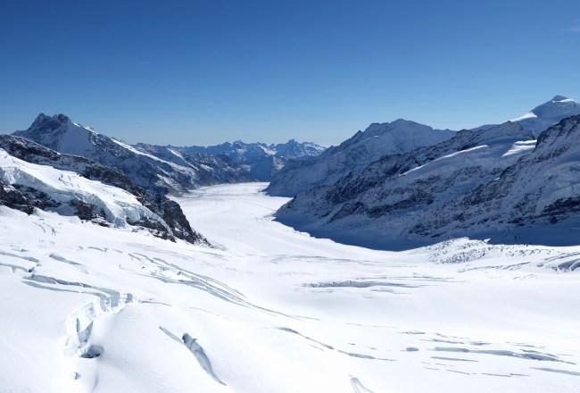 View from Jungfraujoch