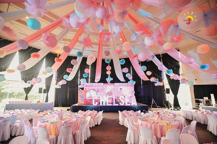 Chelsea s candyland paradise for 1st birthday hall decoration