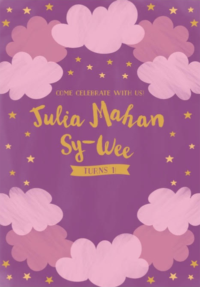 julia wee invite