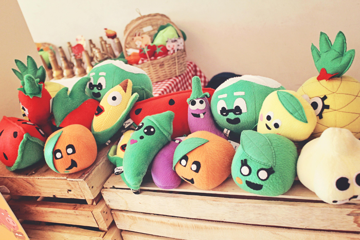 Cute Plush Fruits And Veggies Found At Sams Barnyard Party