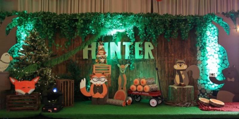 Hunter's Preppy Lumberjack Birthday