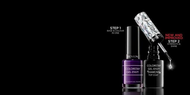 Utiliza la pintura de uñas Revlon Colorstay Gel Envy