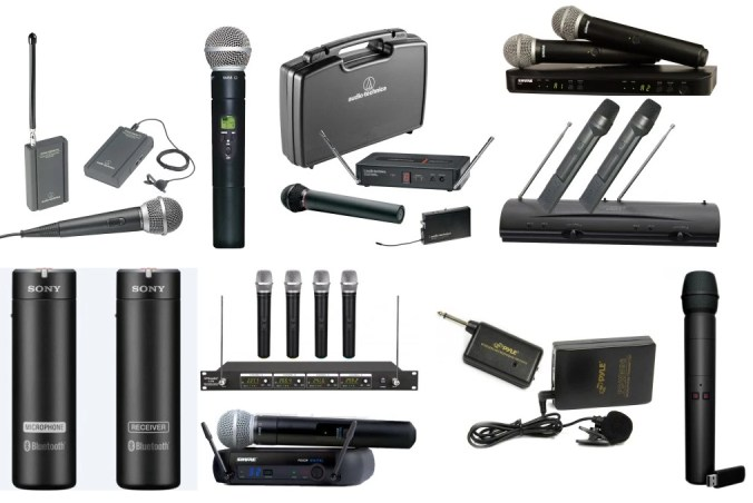 We review the ten best wireless microphones in the world