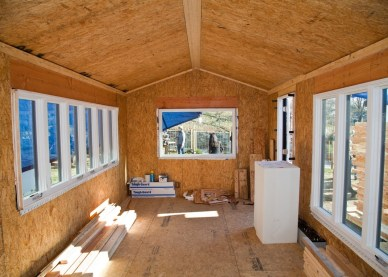 Inside Minim house