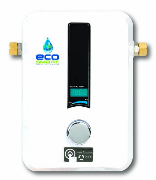 Water heaters for microliving