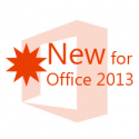 new feature for microsoft office 2013