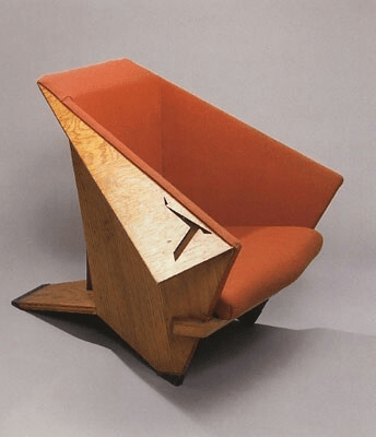 Origami Or Winged Chair