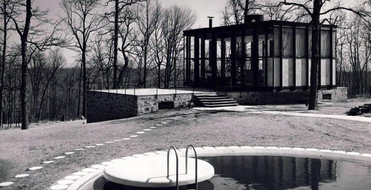 Philip Johnson's the Wiley House