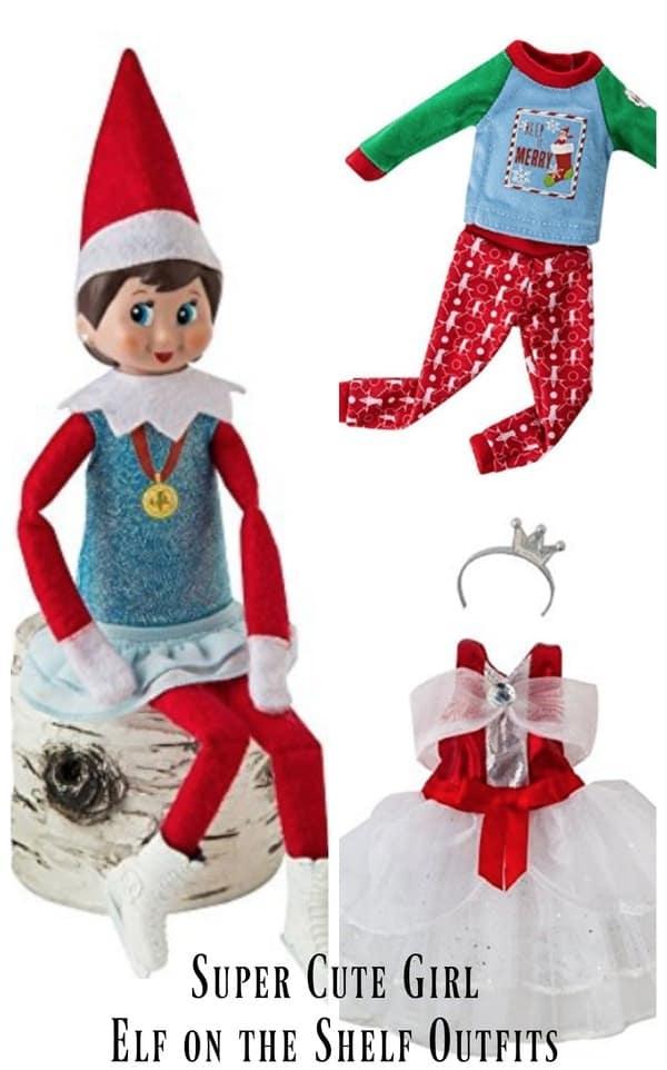 Fullsize Of Elf On The Shelf Girl