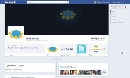 timeline facebook linha do tempo 1 500x303 Linha do Tempo para fan pages chegou. Saiba tudo sobre a novidade e como ativar em sua página agora.