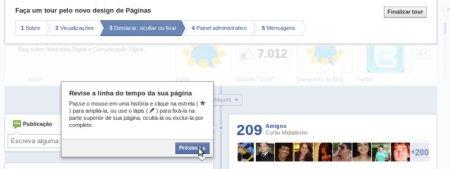 tour facebook fan page destaque 500x188 Linha do Tempo para fan pages chegou. Saiba tudo sobre a novidade e como ativar em sua página agora.