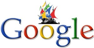google-logo-e-pirataria