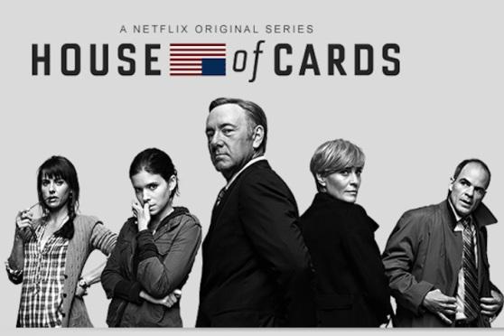 """Cartaz de """"House of Cards"""", seriado original do Netflix"""