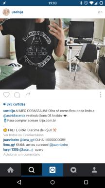 Instagram da LOLja
