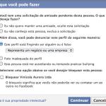 Que tal denunciar perfis de empresas no Facebook?
