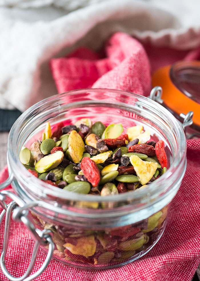 Homemade Trail Mix: Nutty + Healthy