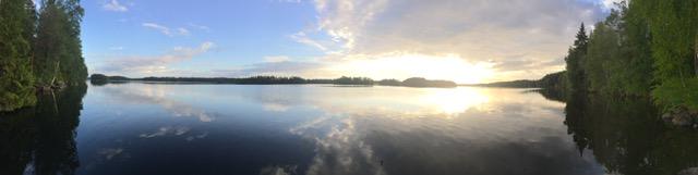 Midlife Sentence | Sunset in Finland