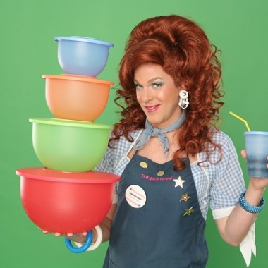 """Off-Broadway's Hilarious  """"Dixie's Tupperware Party"""" Starring Dixie Longate Rolls into town June 21-26 at TPAC"""
