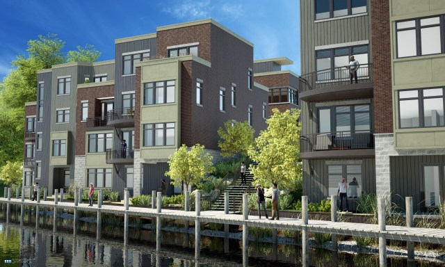 Uptown Riverfront Townhomes