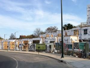 Cityside Live-Above-Work Units Under Construction