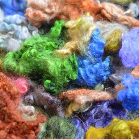 Ashford Dyed Wool Locks