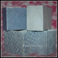 Klä lådor med papper