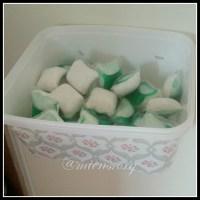 Snabb låda för diskmedelskuddar