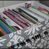 Organisationsutmaning Vecka 2 - Pappersförvaring