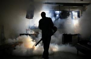Fumigación oficina sensibilidad química tóxico