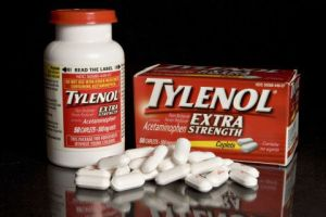 Johnson & Johnson's Tylenol is arranged for a photograph in