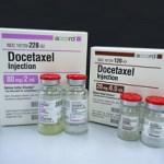 Docetaxel cáncer